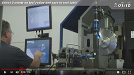Diamond Tool Setting Using Precitech Horizontal Optical Tool Setter